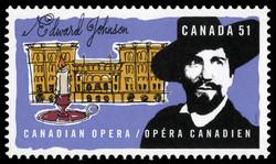 Edward Johnson  Postage Stamp
