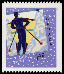 Contemplation Canada Postage Stamp | Christmas : Christmas cards