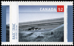 Universiy of Lethbridge Canada Postage Stamp | Royal Architectural Institute of Canada, 100 Years