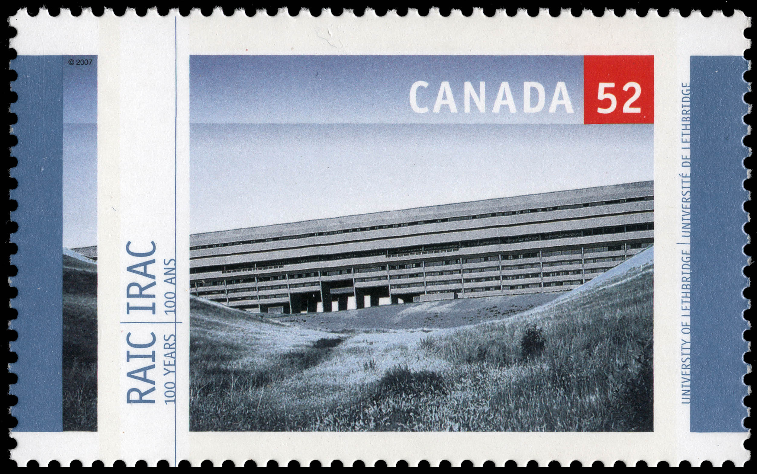 Universiy of Lethbridge Canada Postage Stamp