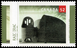 St. Mary's Church Canada Postage Stamp | Royal Architectural Institute of Canada, 100 Years