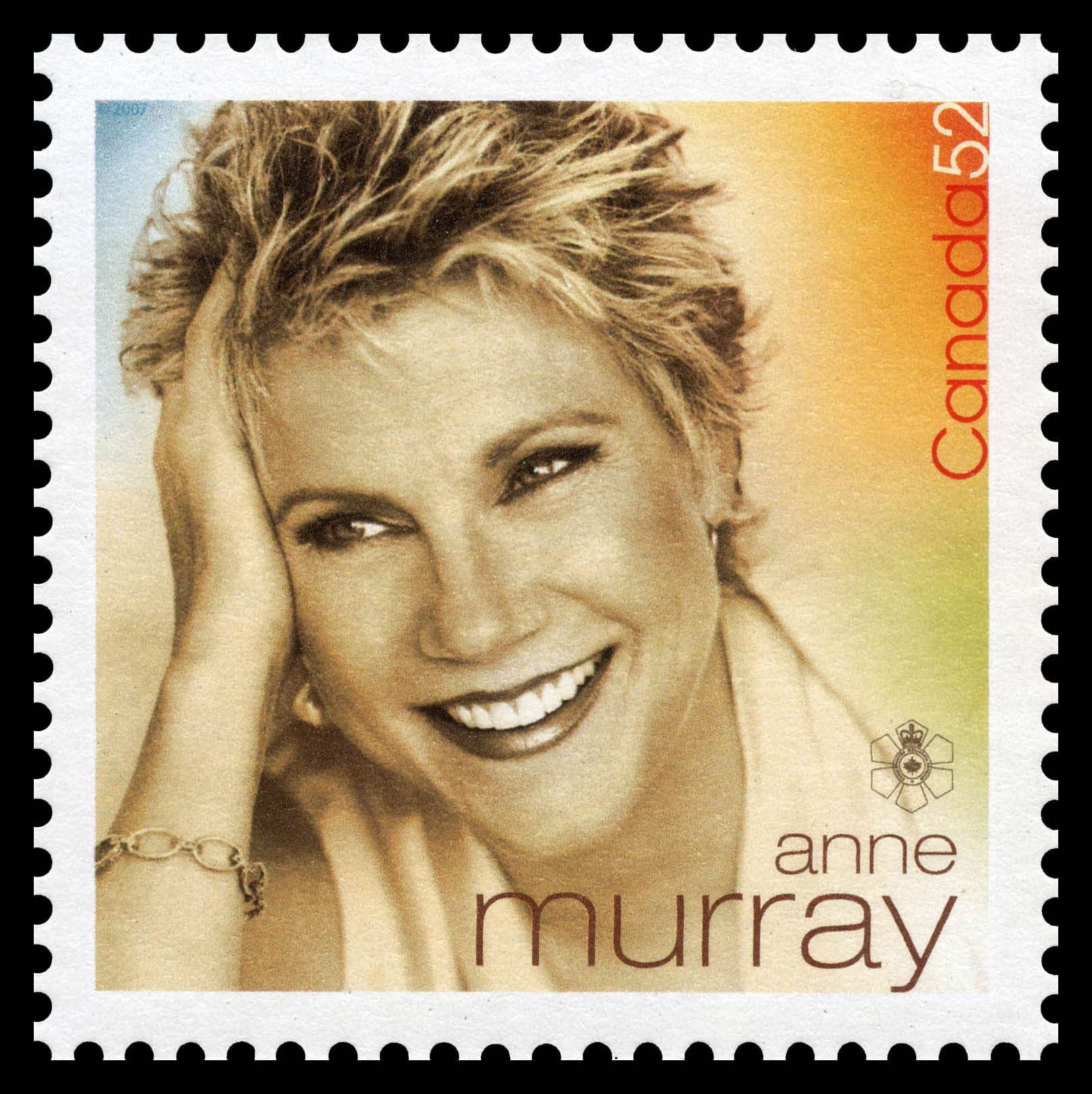 Anne Murray Canada Postage Stamp   Canadian Recording Artists