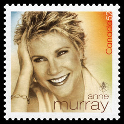 Anne Murray Canada Postage Stamp