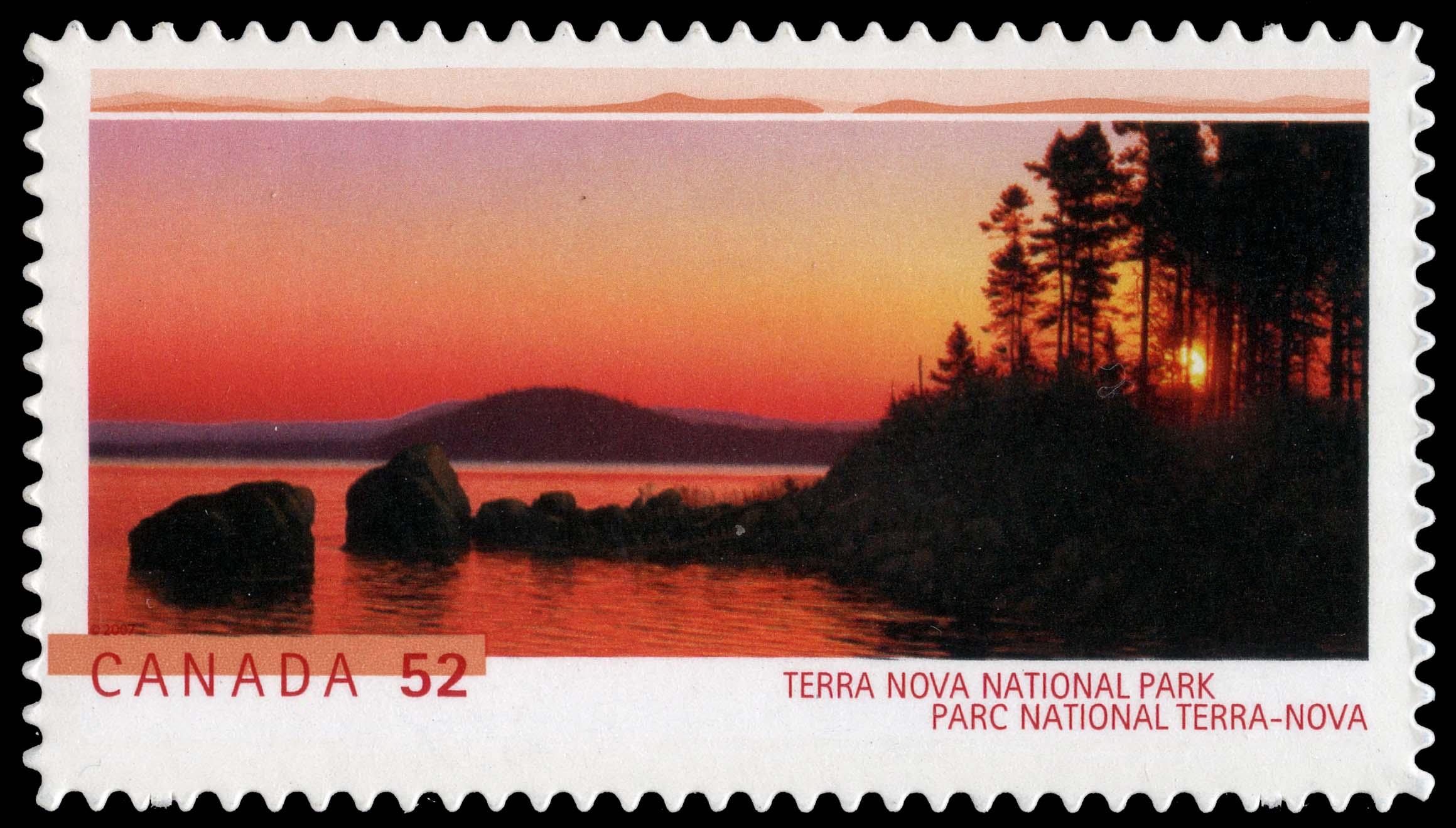 Terra Nova National Park Canada Postage Stamp