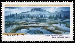 Jasper National Park Canada Postage Stamp