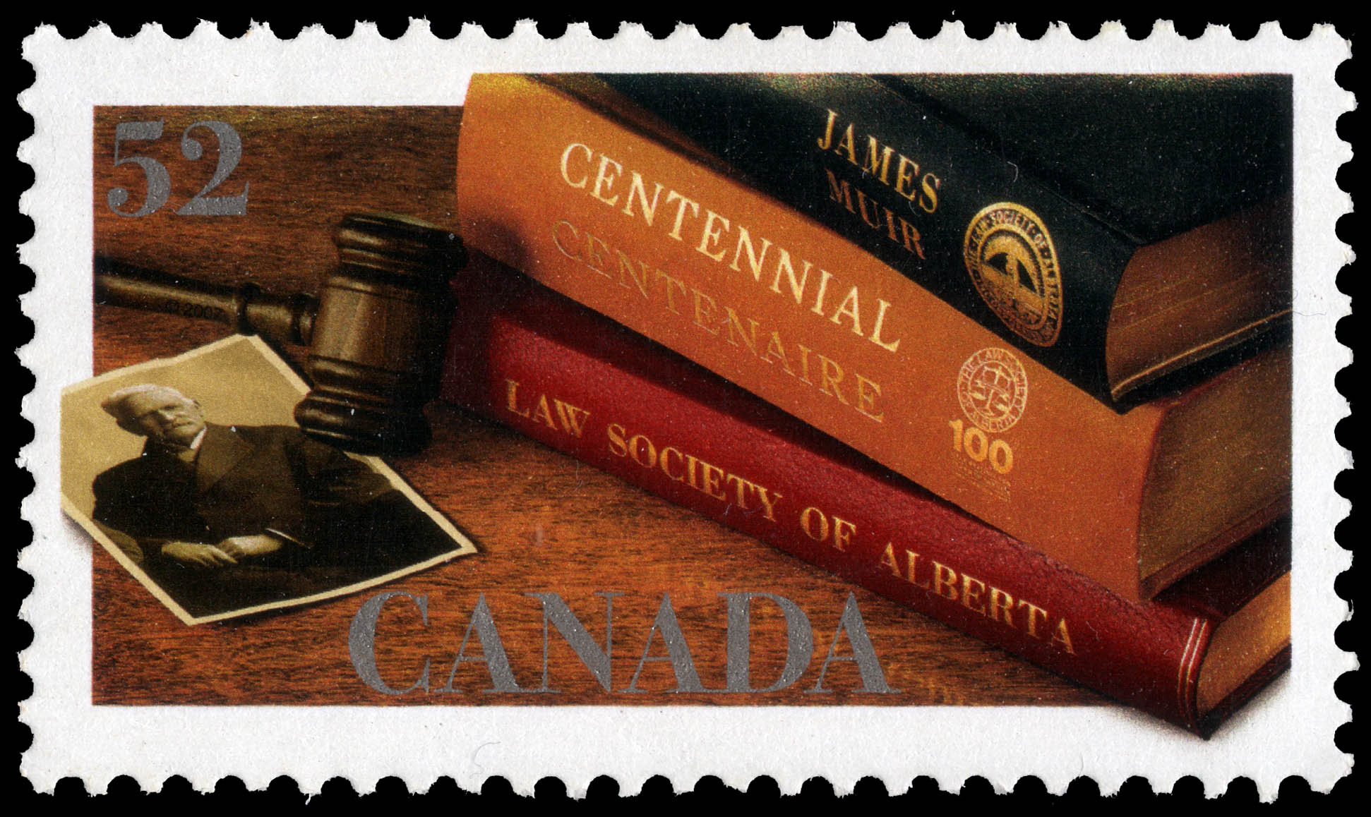Law Society of Alberta Canada Postage Stamp