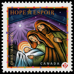 Hope Canada Postage Stamp | Christmas: Hope, Joy and Peace