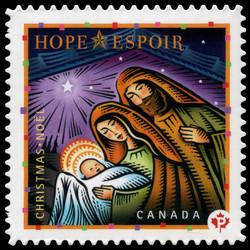 Hope Canada Postage Stamp | Christmas: Hope, Joy and Peace
