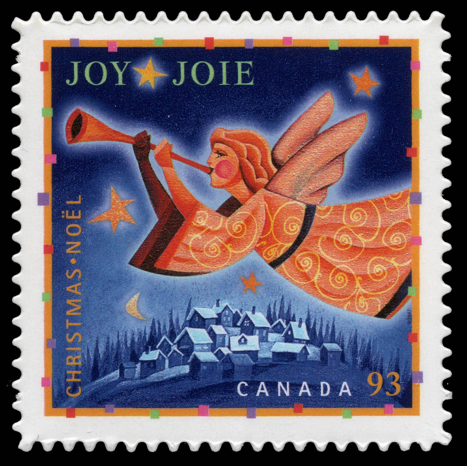 Joy Canada Postage Stamp | Christmas: Hope, Joy and Peace