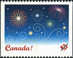 Celebrate Canada Postage Stamp | Celebration