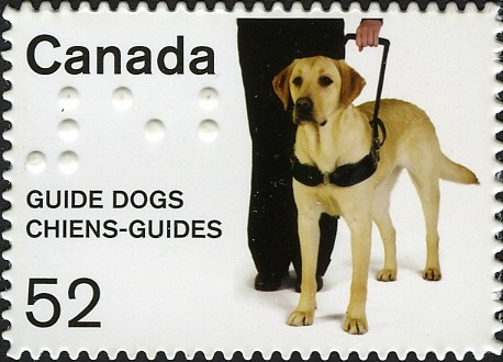 Guide Dogs Canada Postage Stamp