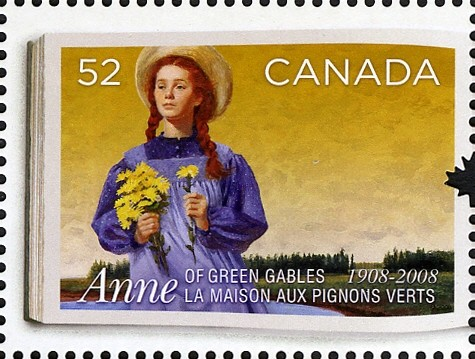 Anne Canada Postage Stamp
