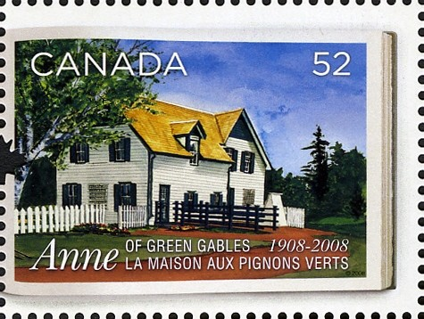Green Gables Canada Postage Stamp