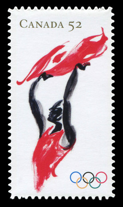 Games of the XXIX Olympiad Canada Postage Stamp