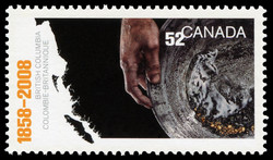 British Columbia's 150th Anniversary Canada Postage Stamp