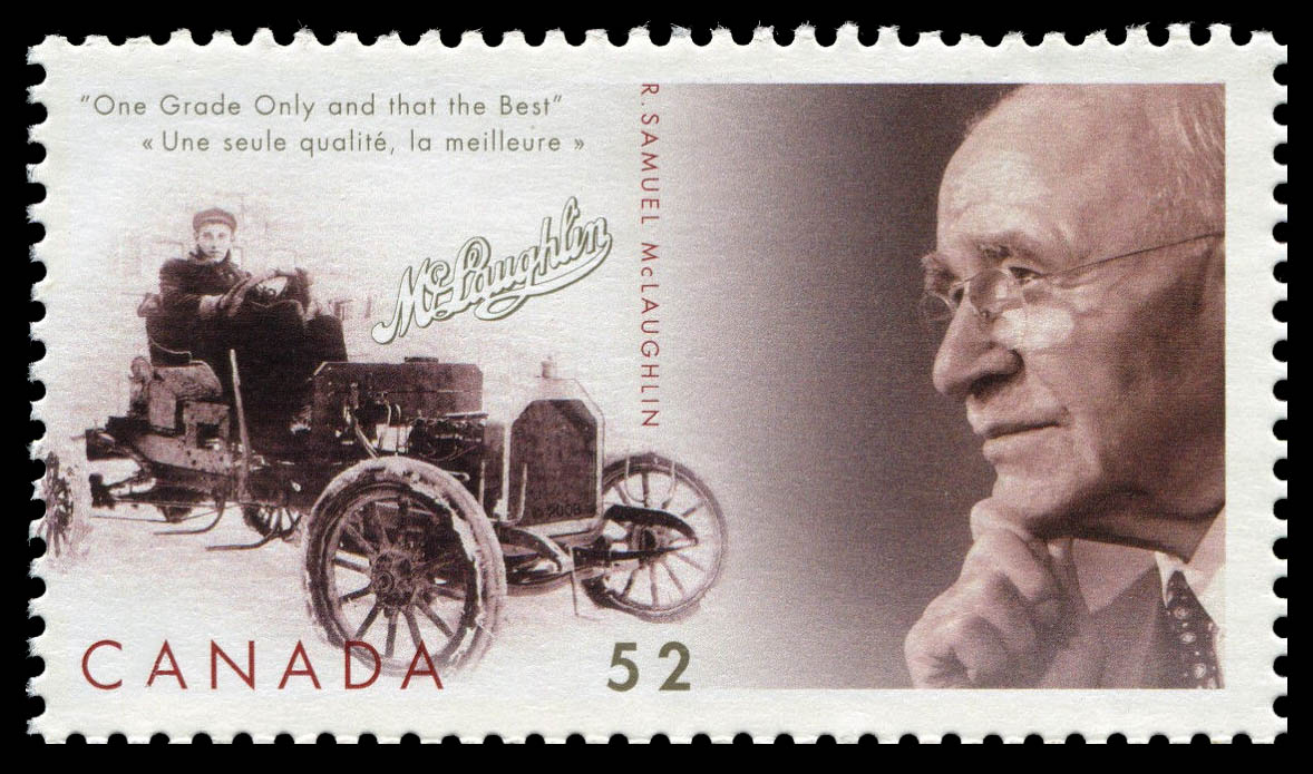 R. Samuel McLaughlin Canada Postage Stamp