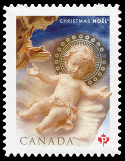 Nativity Canada Postage Stamp | Christmas