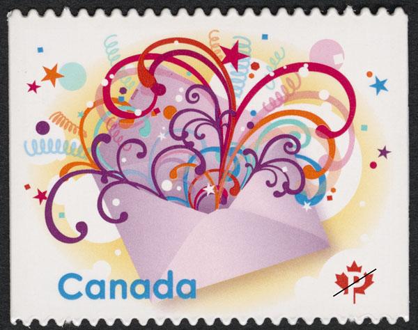 Celebrate Canada Postage Stamp