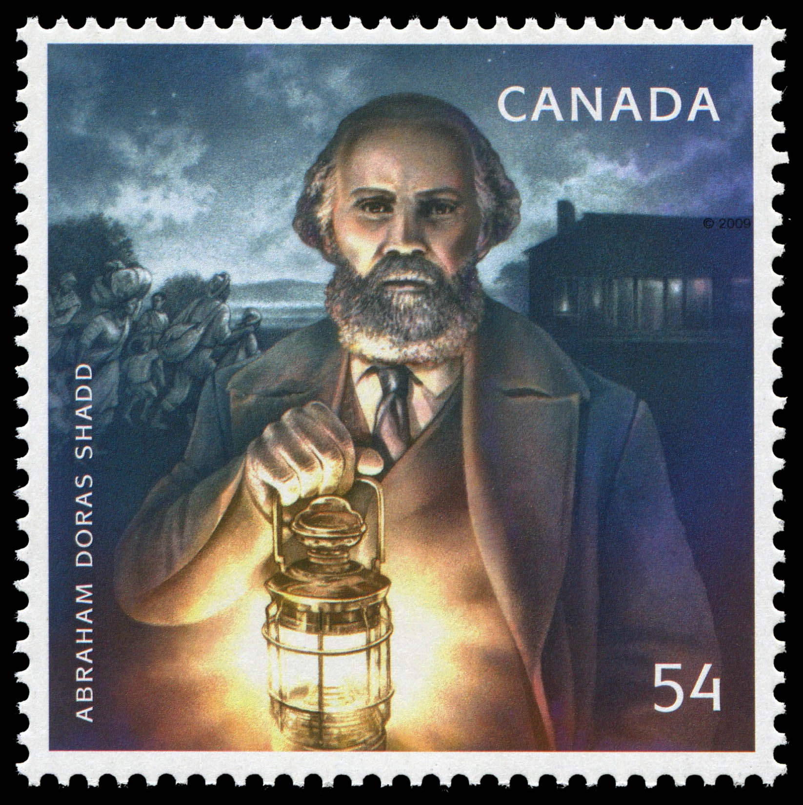 Abraham Doras Shadd Canada Postage Stamp | Black History Month