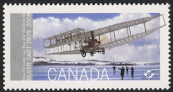 Silver Dart - First Flight in Canada Canada Postage Stamp