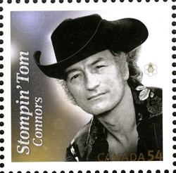 Stompin' Tom Connors Canada Postage Stamp | Canadian Recording Artists