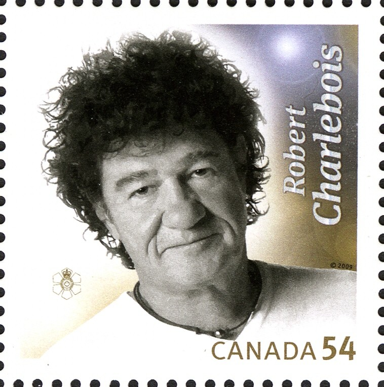 Robert Charlebois Canada Postage Stamp | Canadian Recording Artists