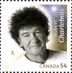 Robert Charlebois Canada Postage Stamp   Canadian Recording Artists