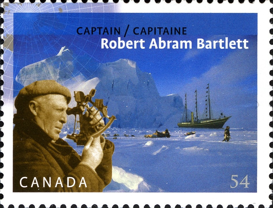 Captain Robert Abram Bartlett Canada Postage Stamp