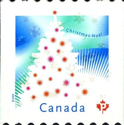 Christmas Tree Canada Postage Stamp | Christmas