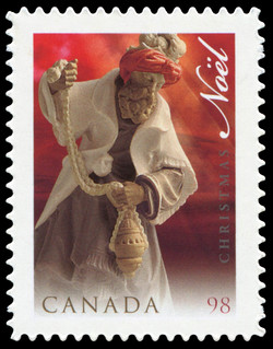 Magi Canada Postage Stamp | Christmas, Nativity Scene