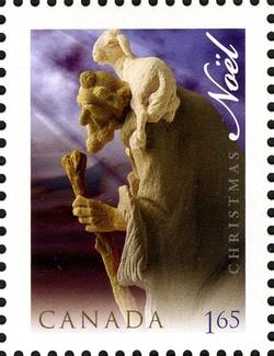 Shepherd Canada Postage Stamp | Christmas, Nativity Scene