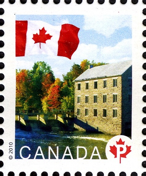 Watson's Mill Canada Postage Stamp