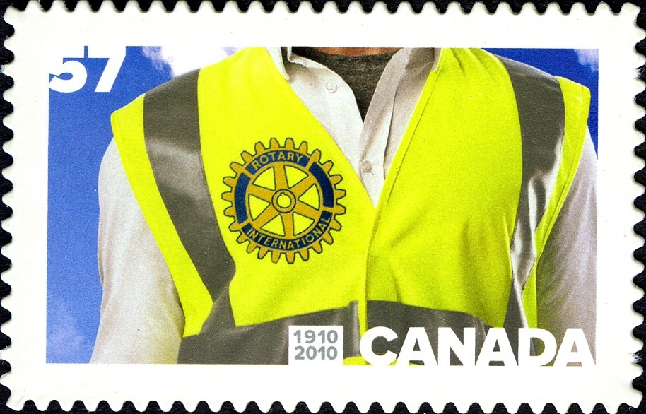 Rotary International, 1910-2010 Canada Postage Stamp