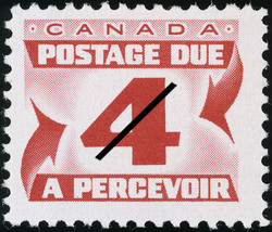 Postage Due  Postage Stamp