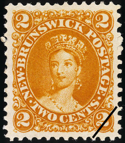 Queen Victoria New Brunswick Postage Stamp