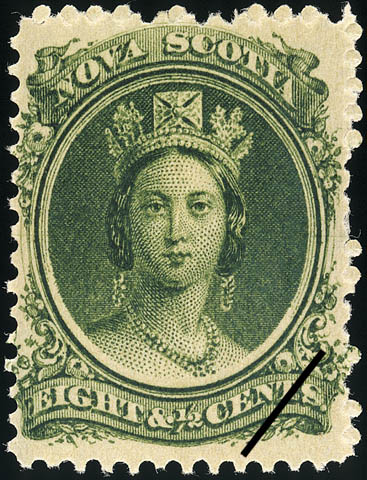 Queen Victoria Nova Scotia Postage Stamp
