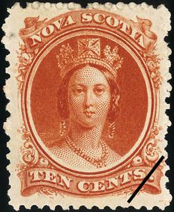 Queen Victoria Nova Scotia Postage Stamp