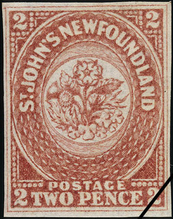 Rose, Thistle and Shamrock Newfoundland Postage Stamp