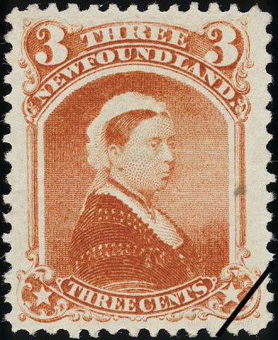 Queen Victoria Newfoundland Postage Stamp