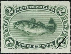 Codfish Newfoundland Postage Stamp