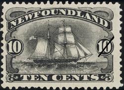 Brigantine Newfoundland Postage Stamp