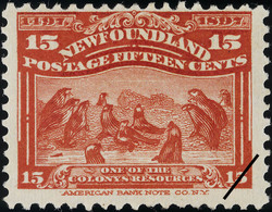 Seals, One of the Colony's Resources Newfoundland Postage Stamp | Cabot - 1497-1897