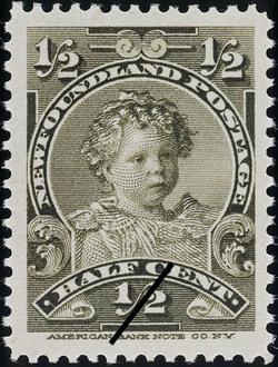 Prince Edward Newfoundland Postage Stamp