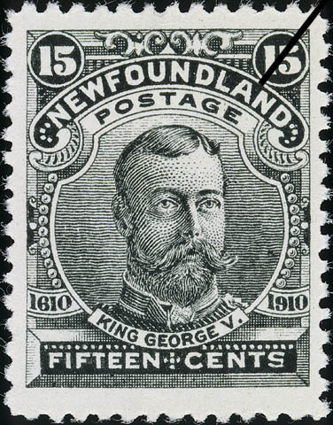 King George V Newfoundland Postage Stamp | Guy Tercentenary