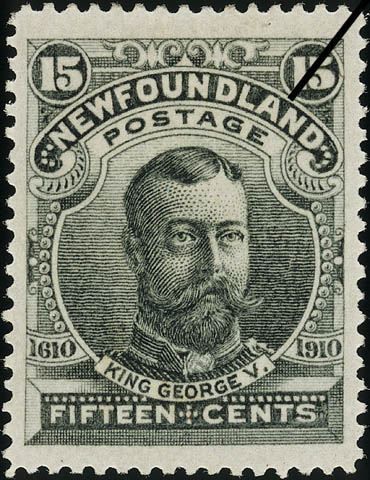King George V Newfoundland Postage Stamp | Guy Tercentenary