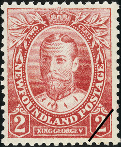 King George V Newfoundland Postage Stamp | Coronation of King George V