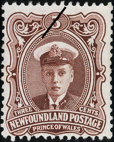 Prince of Wales Newfoundland Postage Stamp