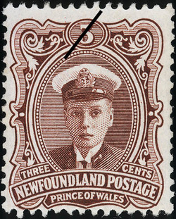 Prince of Wales Newfoundland Postage Stamp | Coronation of King George V