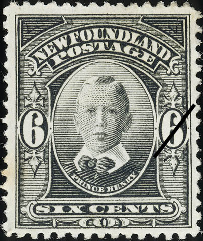 Prince Henry Newfoundland Postage Stamp | Coronation of King George V