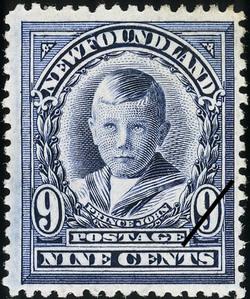 Prince John Newfoundland Postage Stamp | Coronation of King George V
